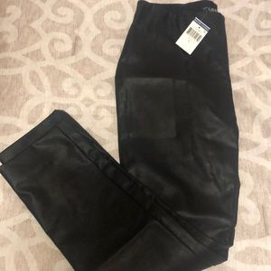 Ralph Lauren faux leather leggings - Size 8